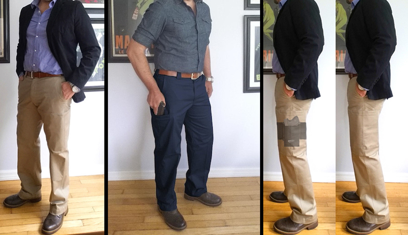 Watch: Agent Pants for Non-Typical Concealed Carry