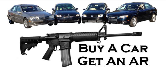 Car Dealership Giving Away ARs With Vehicles