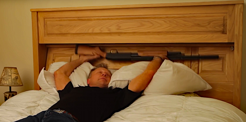 Watch Gun Bed And Gun Shelf Shotgun Dispensers
