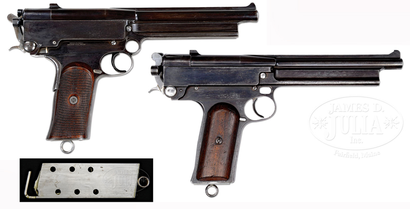 Watch: Super-Powerful Mars Pistols From the Early 1900s
