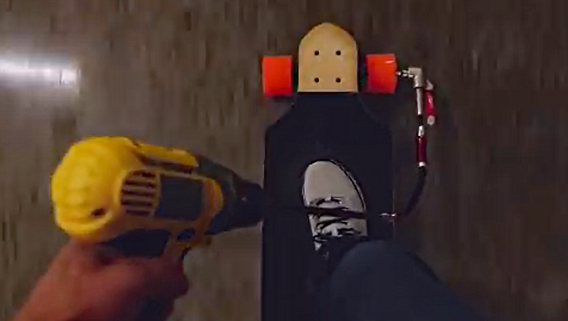 Watch: Make a DIY Electric Skateboard