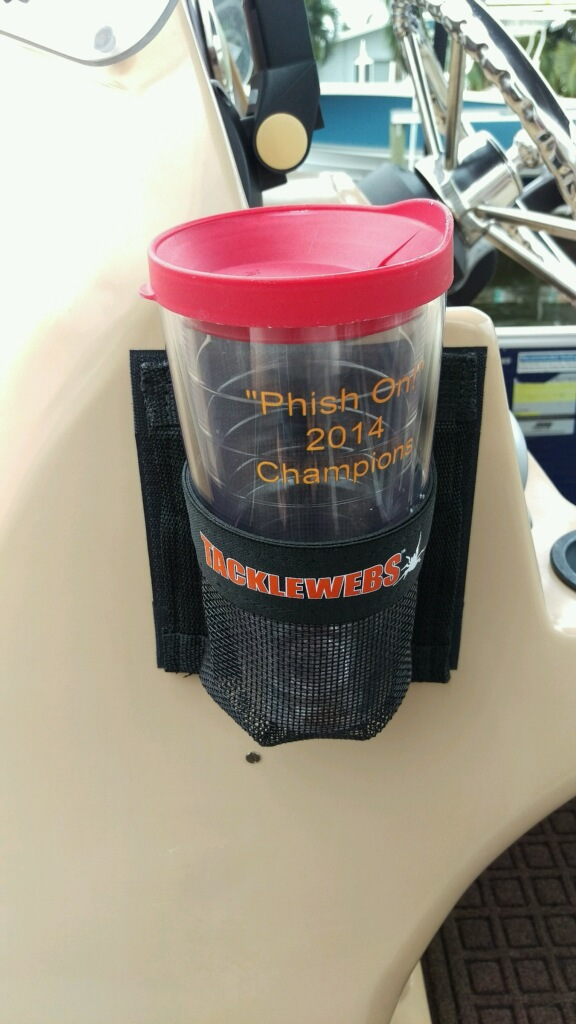 iCAST Review: TackleWebs Cup Holder is Great Catch-All