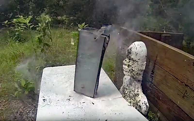 Video: 50 BMG (and Other Calibers) vs. Bulletproof Glass