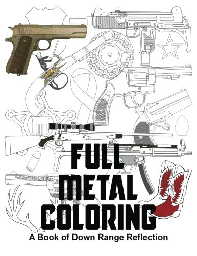 Adult Coloring, for Gun People