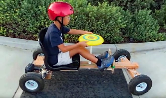 Watch: Build a DIY Go-Cart Powered by a Cordless Drill - AllOutdoor