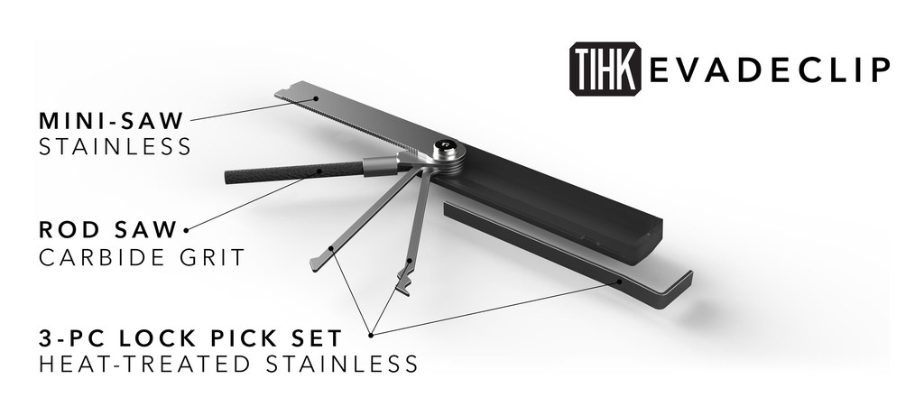Watch: TIHK Evadeclip Urban Survival Tool