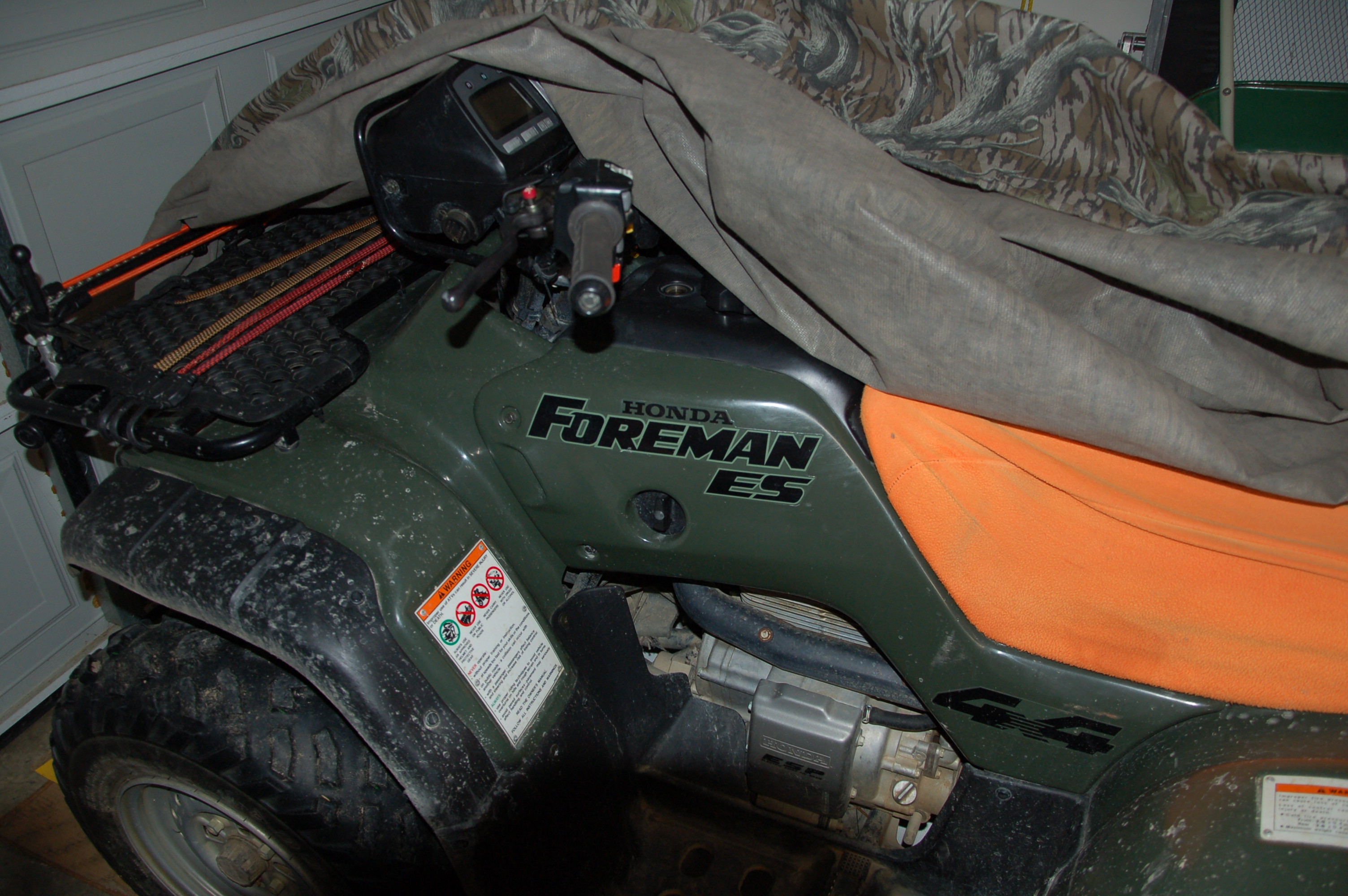 Outfitting a Field Ready ATV