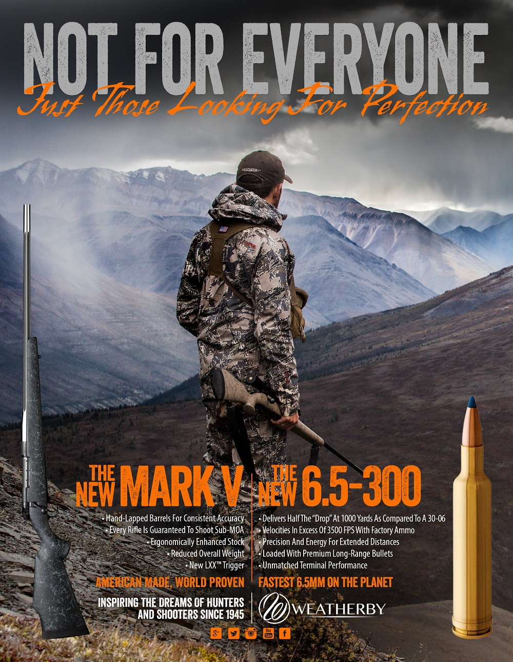 "Weatherby's ""New"" 6.5×300 Rifle"