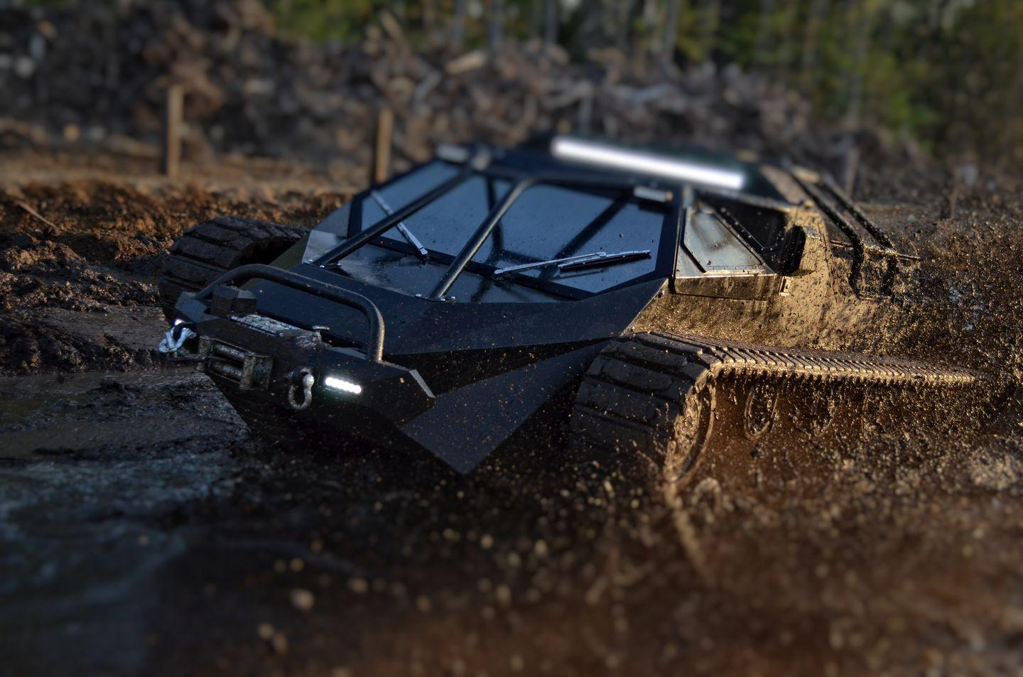 Ripsaw EV2 High-Speed Personal Tracked Vehicle (Videos)