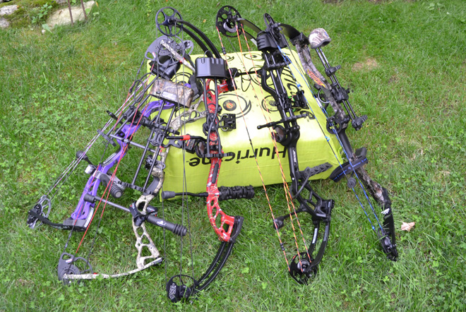 Affordable Hunting Bow Shootout + Video