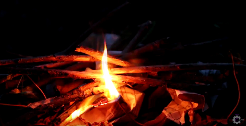 Watch: Make a Simple Fire-Starter With a 9v Battery