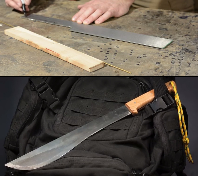 Watch: How to Make a Machete Without Power Tools