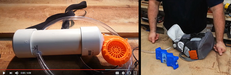 DIY Video: Make a Wearable Personal Air Conditioner