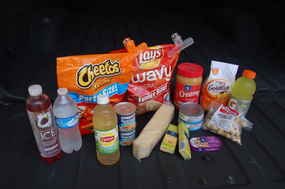 Hunter's Tailgate Lunch Perfect for Preppers