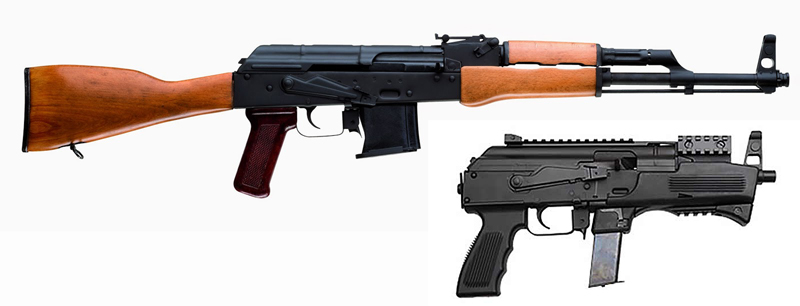Chiappa Makes AK-Type Guns in 9mm and 22 LR
