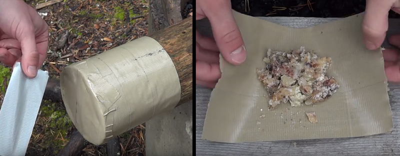 Watch: Five Duct Tape Survival Hacks