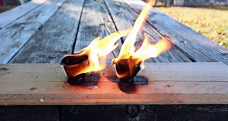 Watch: Making Fire Starters With Wax, Dryer Lint, and Sawdust