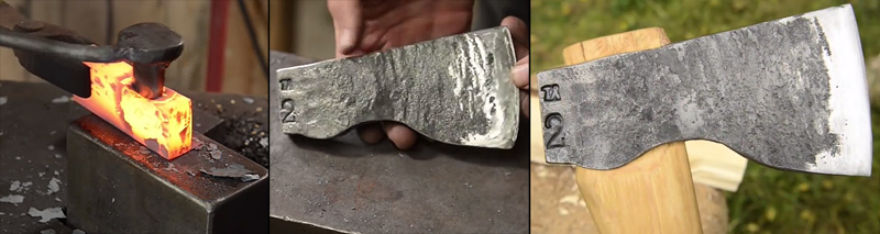 Watch: Forging an Axe From a Block of Steel