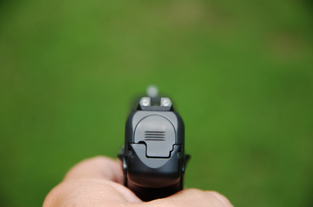 Handgun Front Sight Acquisition