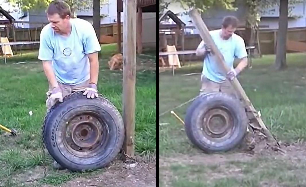 Watch: Easy Way to Remove Fence Posts