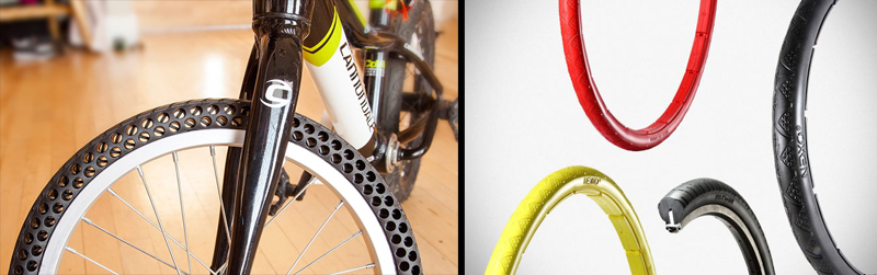 Watch: New Airless/Flat Proof Bicycle Tires