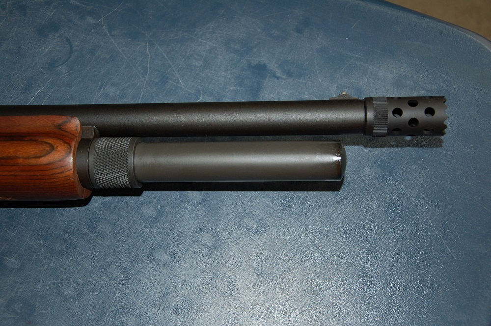Installing a Shotgun Mag Extension