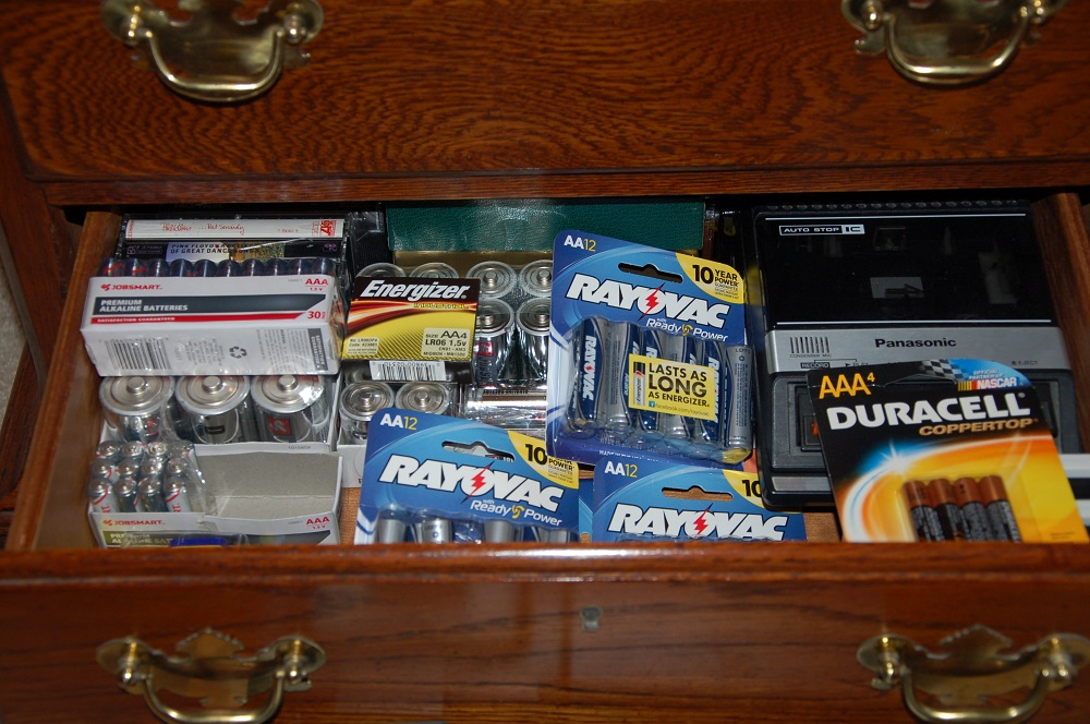 Prepper Use and Care of Batteries