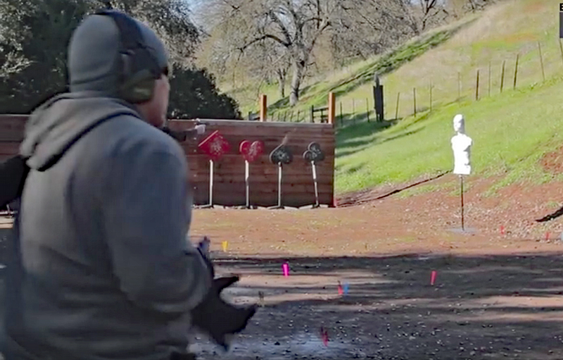 Watch: Pistol Trainee Almost Blows off Hand