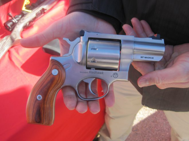 The Ruger Redhawk Has A Retion As One Of Toughest Double Action Revolvers Ever Made While Normally Chambered In Larger Calibers Such 41 Magnum