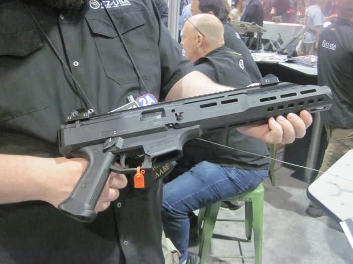 SHOT 2017: CZ-USA Scorpion Pistol Variant