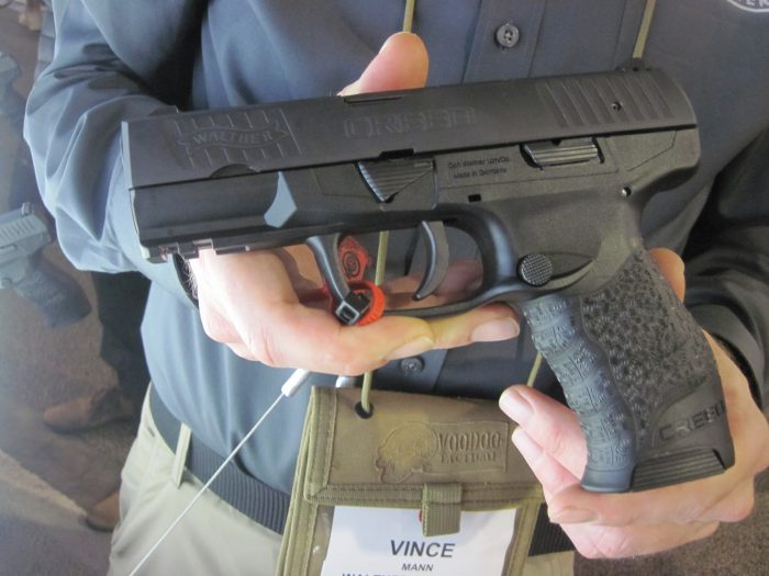 SHOT 2017: Walther Creed Pistol