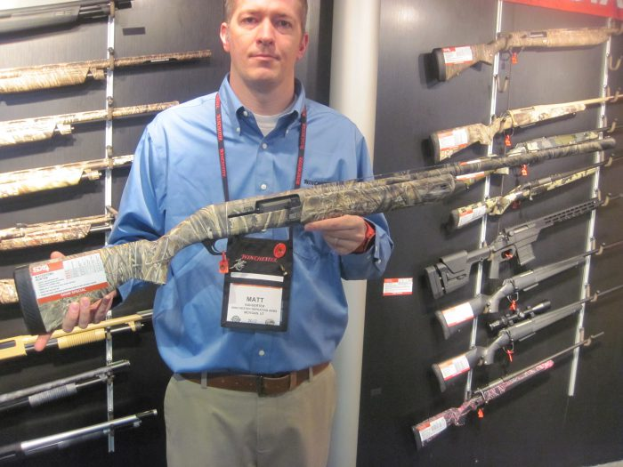 SHOT 2017: New Winchester Super X4 Shotgun