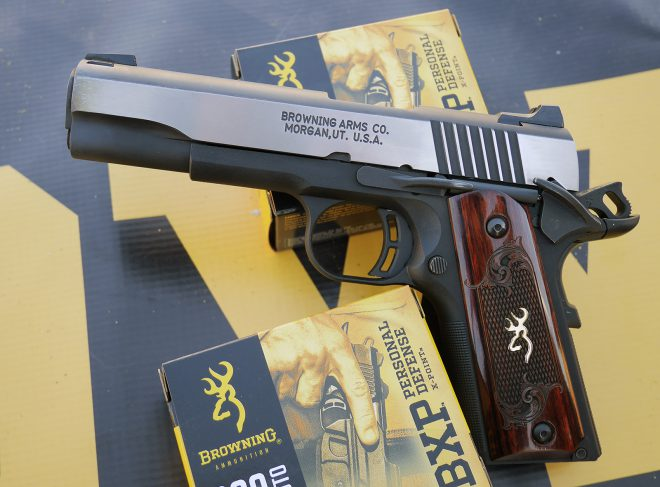 Greatly refined Browning 1911-380 was a joy to shoot. It is a serious competitor to Sig P238 now.