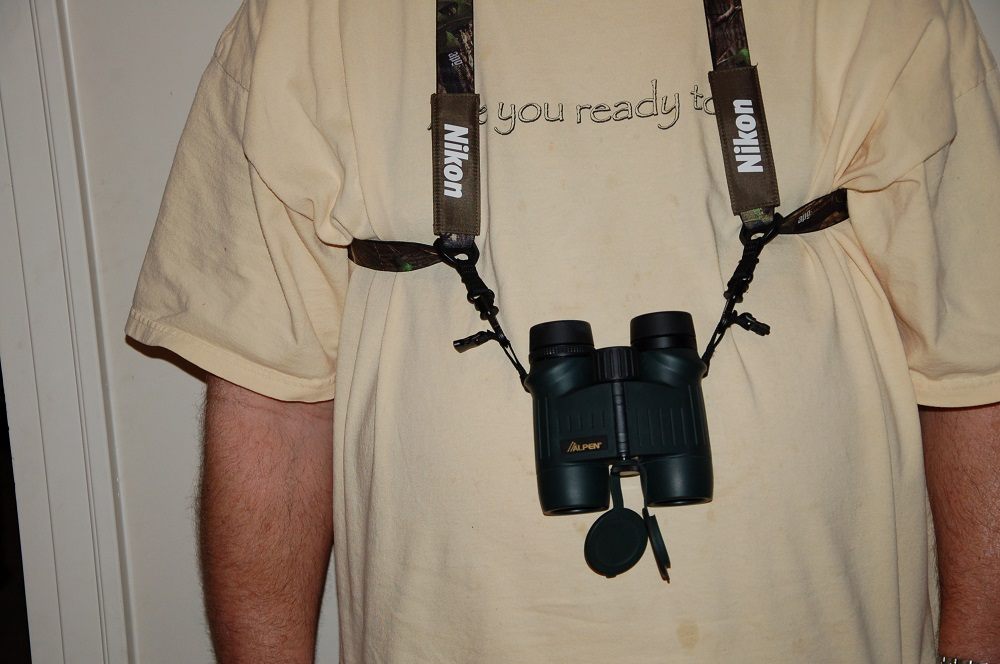 Nikon's Easy Carry Binocular Harness