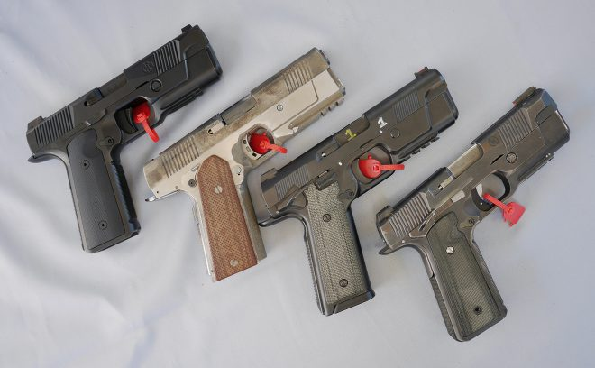 Launched with great fanfare, Hudson H9 (shown here with three prototypes) lived up to the advertising. It was supremely accurate, very comfortable to shoot. Very impressive.