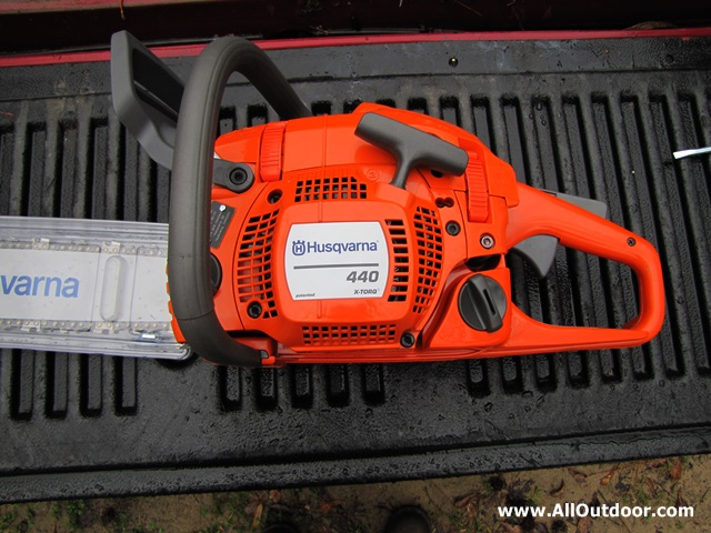 Husqvarna 440 chainsaw review alloutdoor husqvarna 440 chainsaw side view greentooth Choice Image