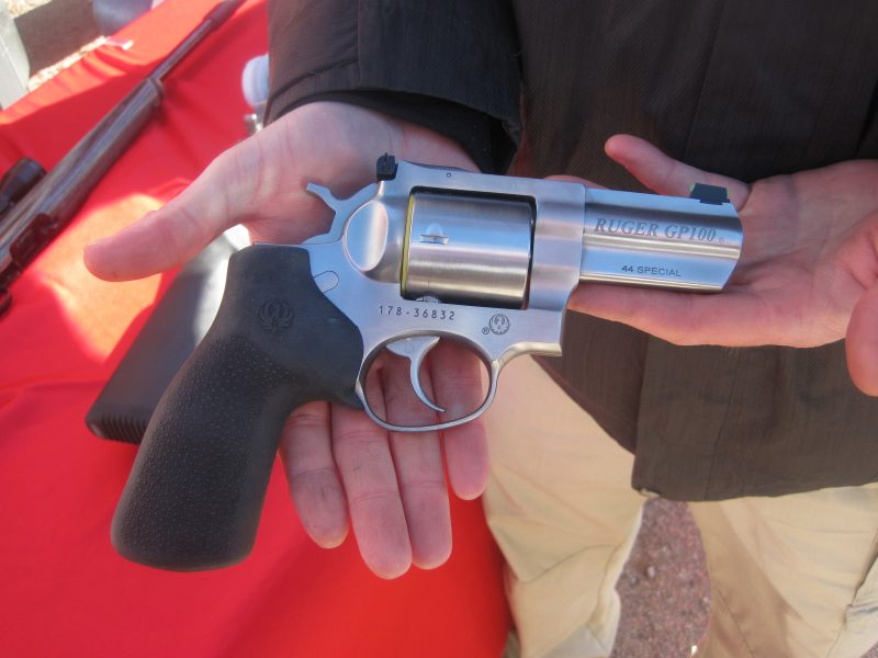 The Ruger GP 100 .44 Special Revolver at the 2017 SHOT Show Range Day