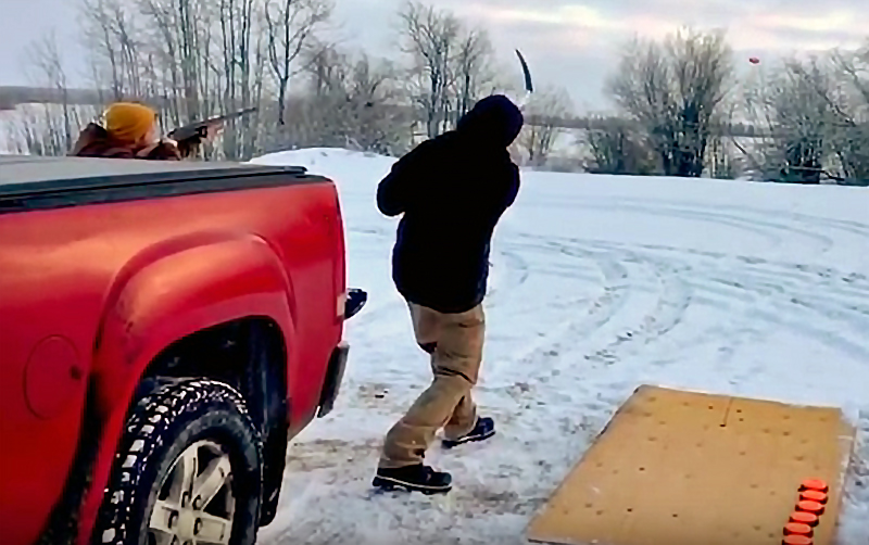 Watch: Canadian-Style Skeet Shooting