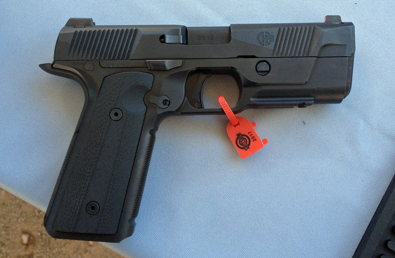 Russ's First Impressions of the New Hudson H9 Pistol