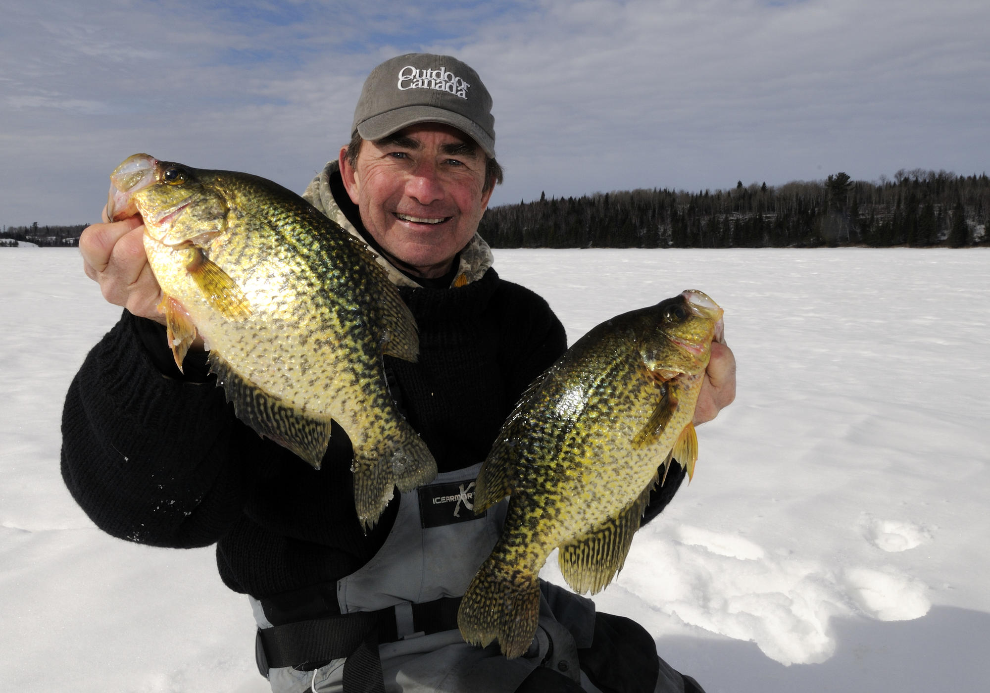 Babe Winkelman Has Insight to Contrasting Lure Colors For Crappies
