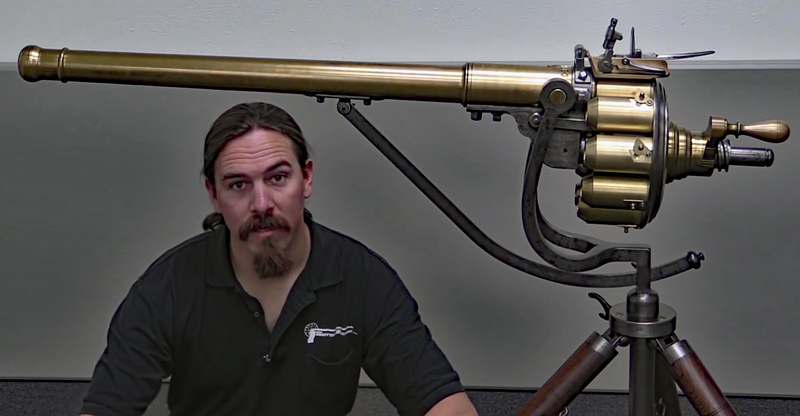 Watch: Puckle Gun, Large Repeating Military Firepower From 1718