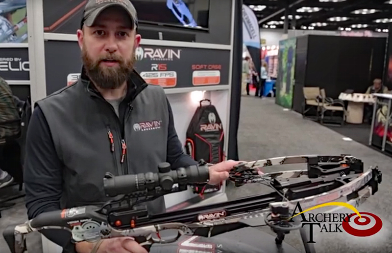 Watch: Ravin R15 Compact Crossbow at ATA 2017