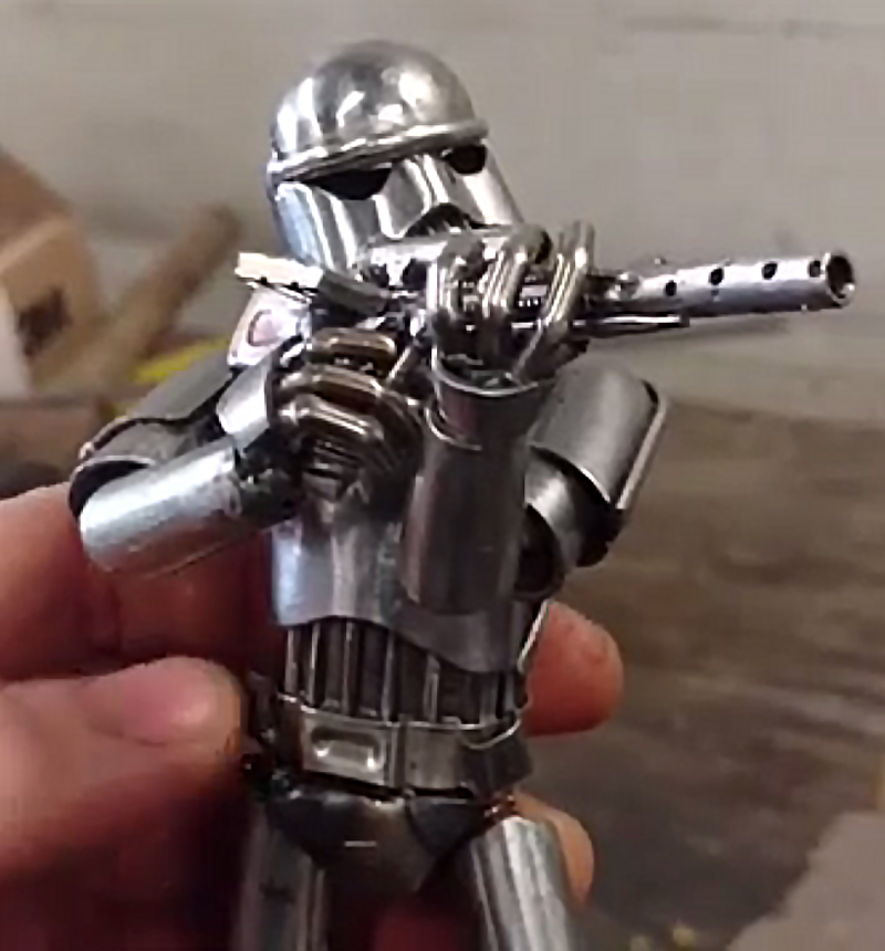 """Tigger Welding's Animated Storm Trooper """"With Aiming Action"""""""