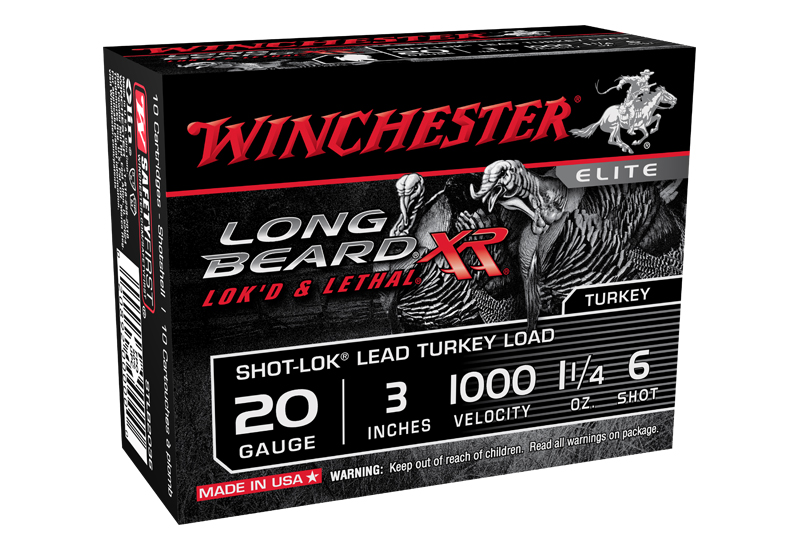 Winchester Long Beard XR Turkey Ammo Now Available in 20 Gauge
