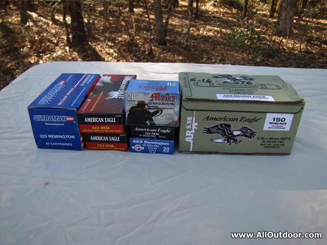 Stockpiling 223 Remington Ammunition