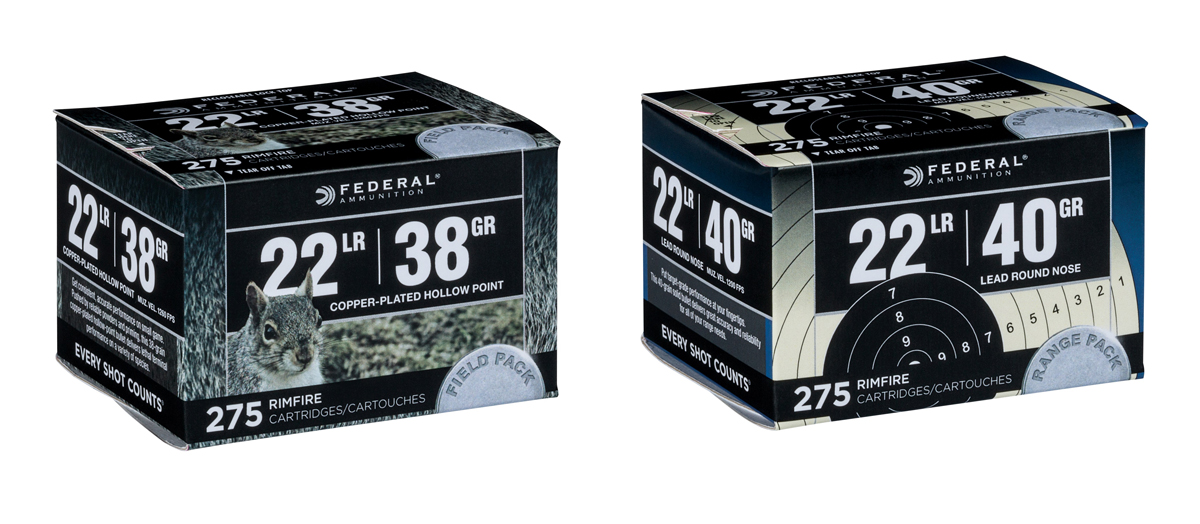 "Two New ""Premium"" 22 LR Bulk-Packed Loads from Federal"