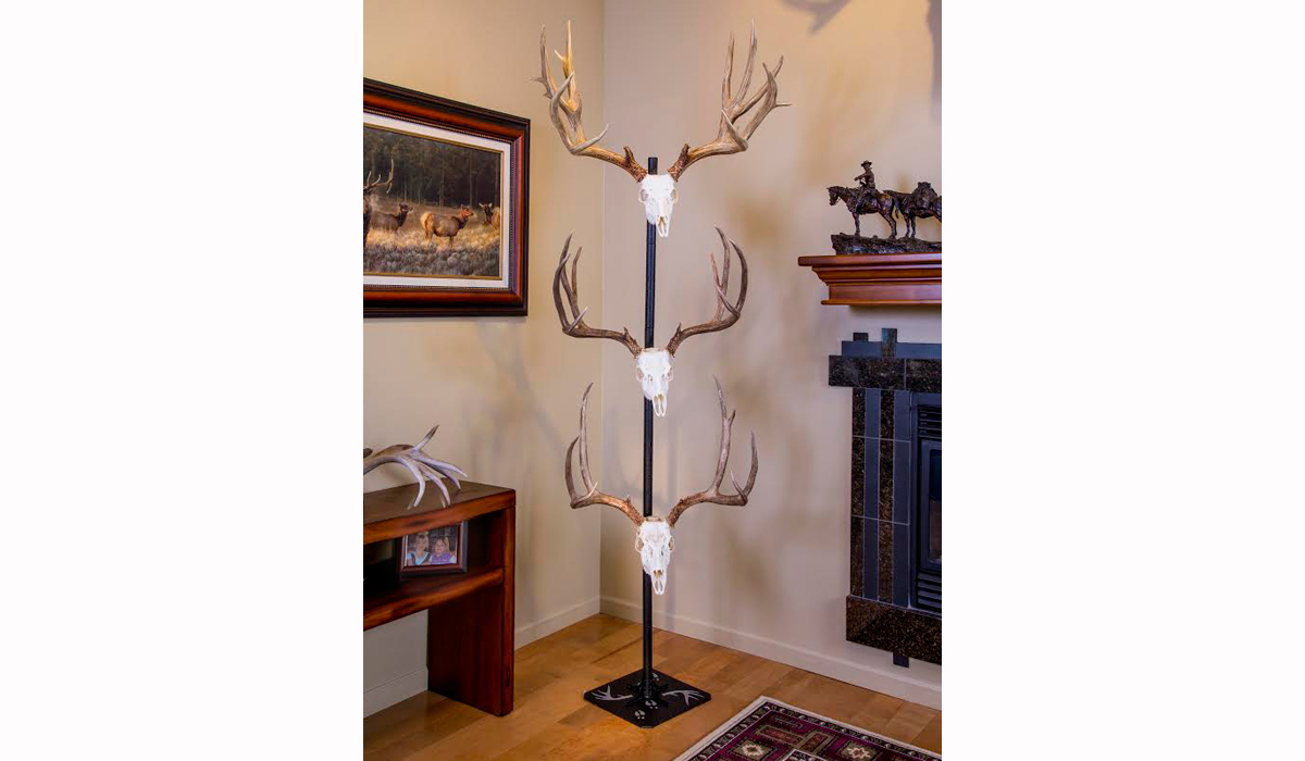 Free up Wall Space with Trophy Tree From Skull Hooker