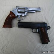 Smith & Wesson with 1911