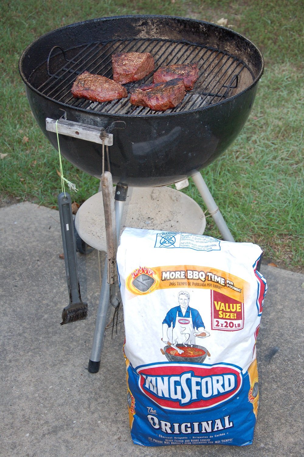 Weber and Charcoal