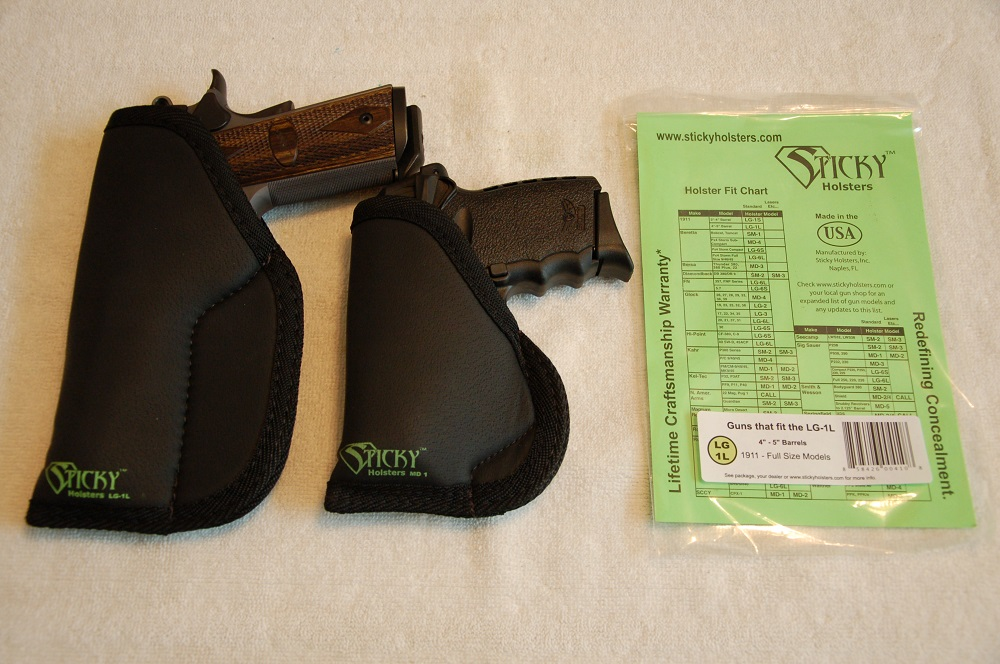 Soft Sided Pocket Holsters